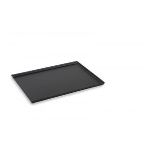 Plexi plateau DARK SMOKE - Edged - 400x300x15mm