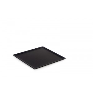 Plexi plateau DARK SMOKE - 200x200mm