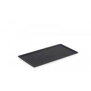 Plexi plateau DARK SMOKE - 300x150mm