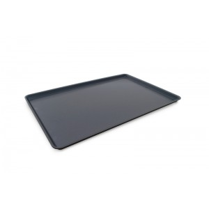 Plexi plateau DARK SMOKE - 600x400x17mm