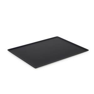 Plexi plateau DARK SMOKE - 400x300mm