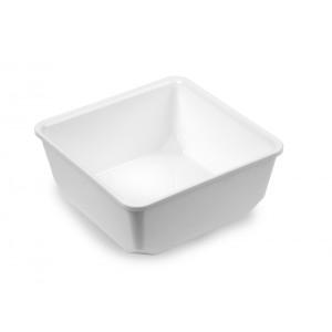 Plexi saladepot WIT - 205x205x81mm - 2,5l