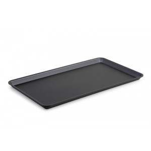 Plexi plateau GN 1/1 17 DARK SMOKE - 530x325x17mm