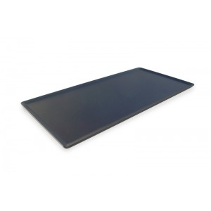 Plexi plateau DARK SMOKE - 400X200mm