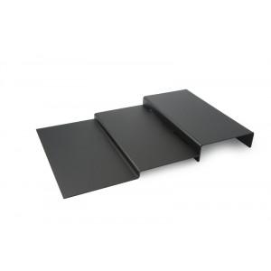 Plexi escalier 3 niveaux DARK SMOKE - 500x800mm