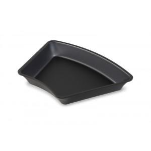 Plexi bac pétale amphithéâtre DARK SMOKE - 265x265x45°x50mm