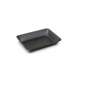 Plexi plateau 695 DARK SMOKE - 320x235x50mm