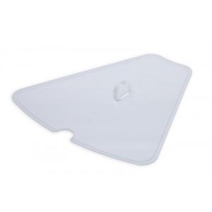 Plexi couvercle pour GN1580CAROUSEL avec encoche cuillèr