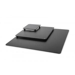 Escalier 3 niveaux carré NOIR - 800x800mm