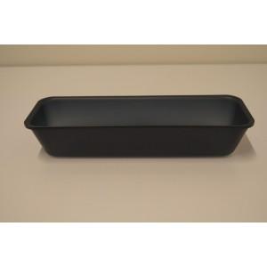 Plexi bac DARK SMOKE - 280x105x50mm