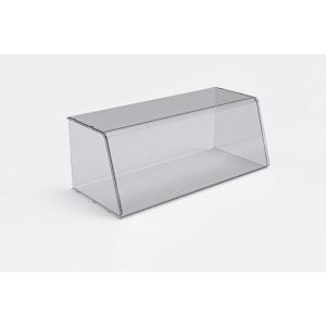 Plexi vitrine fermé - 660x250x290x5mm - a assembler