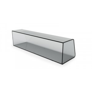 Plexi vitrine fermé - 1000x250x285mm