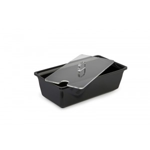 Plexi couvercle sal.rect. 1,5l avec encoche cuillère