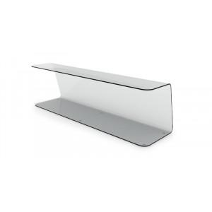 Plexi vitrine ouvert - 1000x250x285mm