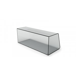 Plexi vitrine fermé - 660x250x285mm