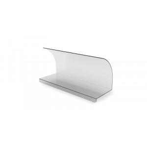 Plexi vitrine ouvert AS001- 600x210x330mm