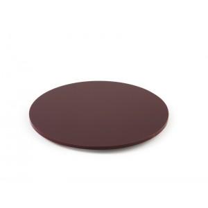 Plexi disque rond + fixation BORDEAUX - Ø300mm
