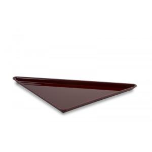 Plexi triangle grand BORDEAUX - 400x400x565mm