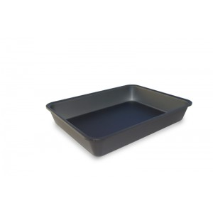 Plexi bac GN1/5 40 DARK SMOKE - 265x200x40mm