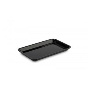 Plexi plate GN 1/4 17 BLACK - 265x162x17mm