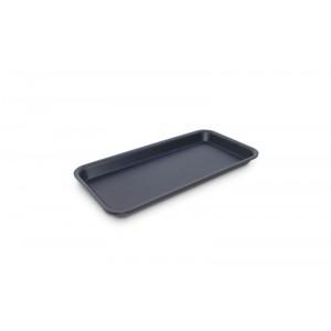 Plexi tray DARK SMOKE - 280x140x17mm