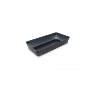 Plexi tray DARK SMOKE - 280x140x50mm