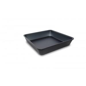 Plexi tray DARK SMOKE - 280x280x50mm