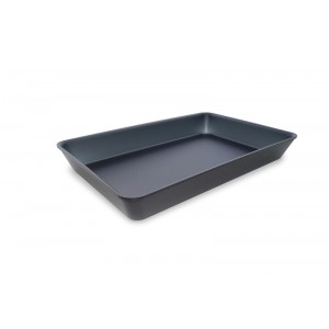 Plexi tray DARK SMOKE - 420x280x50mm