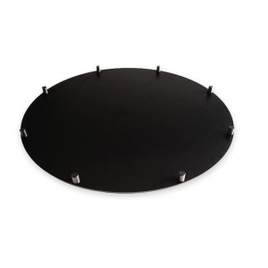 Plexi Rotatable Plate Carousel BLACK - Ø800mm