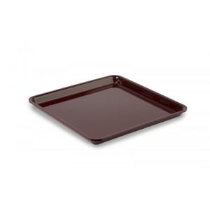 Plexi tray square BURGUNDY - 280x280x20mm