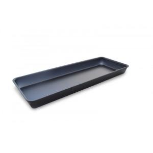 Plexi tray GN2/5 40 DARK SMOKE - 530x200x40mm