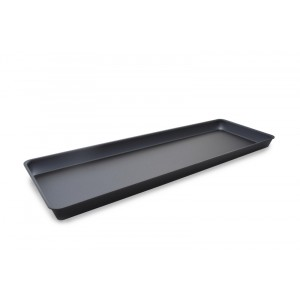 Plexi tray GN5/4 40 DARK SMOKE - 265x810x40mm