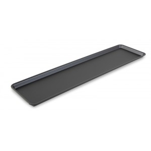 Plexi plate DARK SMOKE - 760x200x17mm