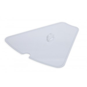 Plexi lid for GN1580CAROUSELwith spoon recess