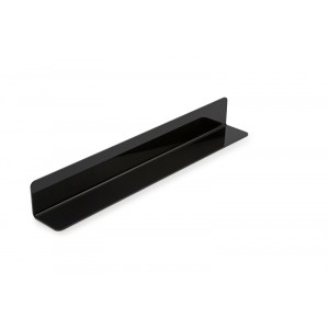 Plexi L-profile BLACK - 350x65x65mm