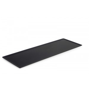 Plexi plate DARK SMOKE - 600x200mm