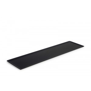 Plexi plate DARK SMOKE - 600x150mm