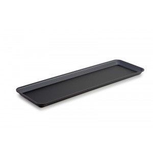Plexi plate GN 2/4 17 DARK SMOKE - 530x162x17mm