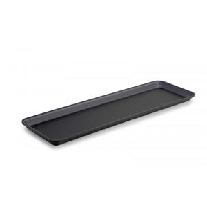 Plexi plate GN 2/4 20 DARK SMOKE - 530x162x20mm