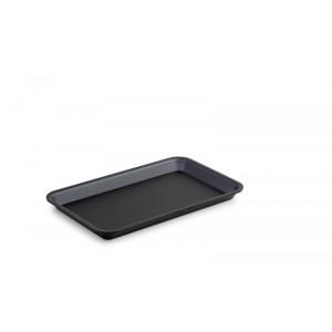 Plexi plate GN 1/4 20 DARK SMOKE - 265x162x20mm