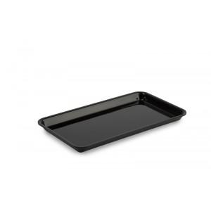 Plexi plate GN 1/3 17 BLACK - 325x176x17mm