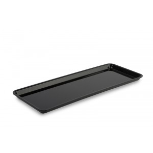 Plexi plate GN 2/5 17 BLACK - 530x200x17mm