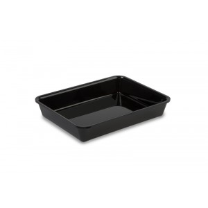 Plexi tray GN 1/5 40 BLACK - 265x20x40mm