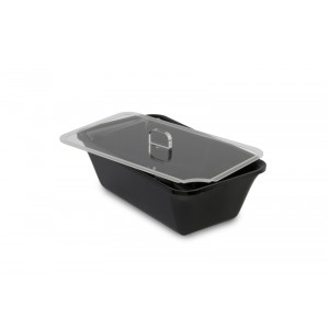 Plexi lid GN 1/4 with spoon recess
