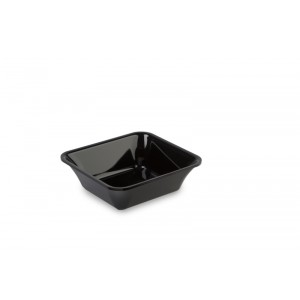 Plexi tray GN 1/6 50 BLACK - 176x162x50mm