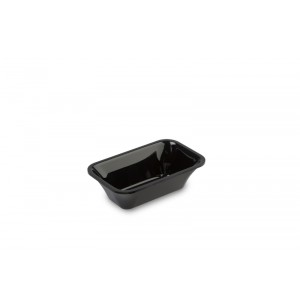 Plexi tray GN 1/9 50 BLACK - 176x108x50mm