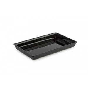 Plexi tray LB78 BLACK - 185x310x40mm