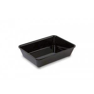 Plexi tray BLACK - 280x210x60mm