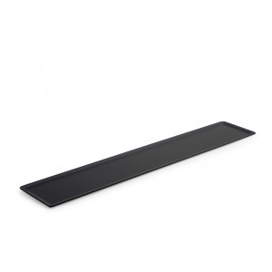 Plexi plate DARK SMOKE - 600x105mm