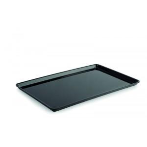 Plexi plate GN 1/1 17 BLACK - 530x325x17mm